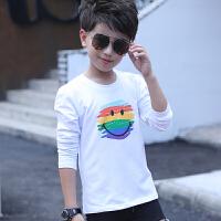 童装新款男童长袖T恤圆领春装儿童纯棉打底衫男孩上衣