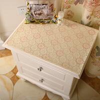 覆膜多功能罩床头柜盖布电视机柜梳妆台布PVC餐桌桌布防水茶几垫