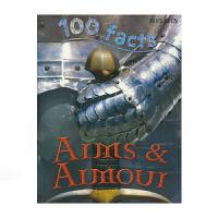 【首页抢券300-100】100 Facts Arms & Armour 100个事实系列 武器和盔甲 百科全书科普儿童