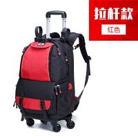 单反相机包佳能拉杆箱式男女户外旅行多功能防水双肩摄影背包定制