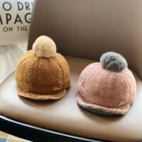 儿童帽子秋冬款鸭舌帽棒球帽时尚男童潮宝宝洋气