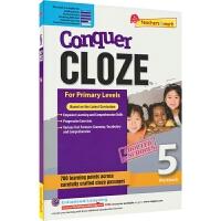 SAP Conquer Cloze 5 五年级英语完型填空练习册 在线读物版 攻克完形填空系列难度提高版 11岁 英文