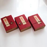 结婚中国风复古牛皮纸喜糖盒创意中式结婚婚礼礼品盒吾家有事成品