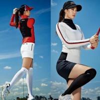 高尔夫女士长筒袜四季可穿百搭女裙过膝女袜GOLF女装服装球袜 均码