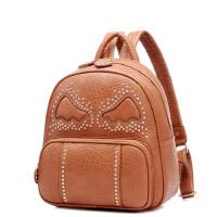 女生背包铆钉学院风休闲书包韩版个性双肩包旅游包