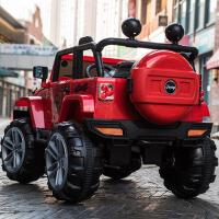 宝宝四驱越野车双人儿童电动车四轮玩具遥控汽车可坐人