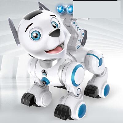 【支持礼品卡】遥控电动小狗汪汪智能犬走路会唱歌电子机器狗队仿真的玩具狗k0h 陪伴孩子玩耍的好伙伴