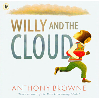 【99选5】英国进口 安东尼布朗经典作品 威利和云 Willy and the Cloud【平装】#