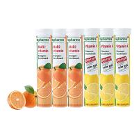 【网易考拉】【增强免疫】Altapharma复合维生素泡腾片 甜橙味*3+Altapharma维他命C泡腾片 柠檬味*
