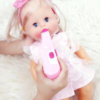 智能仿真婴儿洋娃娃打针喝水尿尿睡眠宝宝女童儿童过家家女孩玩具 新