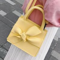 上新小包包女2018新款韩版蝴蝶结斜挎包百搭ins单肩包潮多用腰包