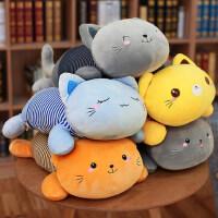 猫咪抱枕被子两用午睡枕头办公室车载枕汽车靠枕靠垫空调被毯子