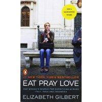 【英文原版】Eat, Pray, Love 一辈子做女孩 电影版