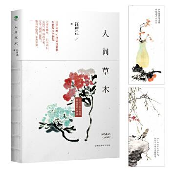 人间草木 汪曾祺典藏文集 20世纪文学大家、生活家汪曾祺散文集,水一样的文字写妙趣生活