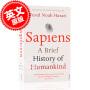 现货 人类简史 从动物到上帝 英文原版 Sapiens:A Brief History of Humankind 世界通史 以色列历史学家尤瓦尔 赫拉利 Harari