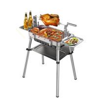 木炭烧烤架烤箱 户外便携式折叠烧烤炉