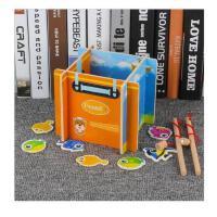 宝宝钓鱼一岁女孩儿童玩具磁性0-1-2-3周岁小猫钓鱼婴儿男孩玩具