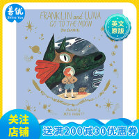 【T&H】Franklin and luna go to the moon,富兰克林和露娜的月球之旅