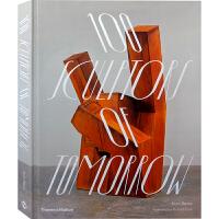 【英文版】100 Sculptors of Tomorrow,100个未来的雕塑家 雕塑与装置艺术书籍