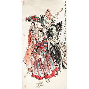 李毅《人物》著名画家