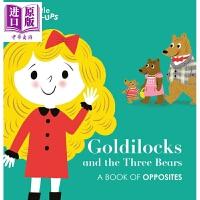【中商原版】Little Pop-Ups: Goldilocks and the Three Bears 企鹅立体童话书