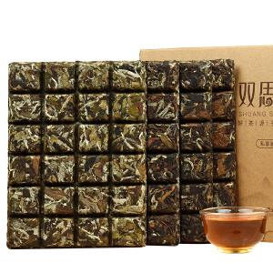祺彤香茶叶 福鼎白茶巧克力 特级白牡丹贡眉寿眉老白茶4饼礼盒装