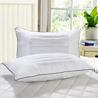 床上用品荞麦/十空细纤维两用单人枕芯 45*70cm枕头J