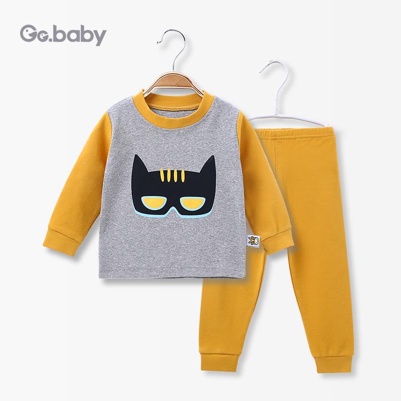 歌歌宝贝婴儿春秋内衣套装婴幼儿秋衣秋裤宝宝0-1岁两件套