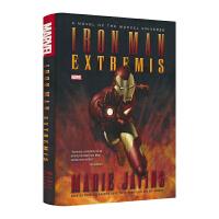 漫威原版长篇小说 钢铁侠3电影原著小说 Iron Man Extremis 钢铁侠改造 英雄故事高阶英语章节书 英文原
