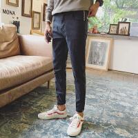 新款黑色牛仔裤男韩版潮流2017修身小脚裤子休闲百搭男士弹力长裤
