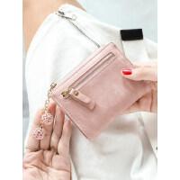 户外小钱包女短款学生韩版简约多功能折叠零钱包