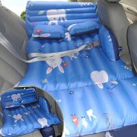 汽车后座旅行床垫奥迪A4L Q5 Q3Q7宝马X5X6X3宝马525车用充气床垫SN8454 多功能折叠款- 棉布兔子乖