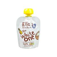 【网易考拉】Ella's Kitchen艾拉的厨房 有机白色香蕉苹果菠萝椰汁混合果泥90克/袋