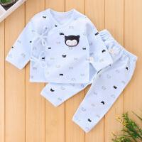 初生儿和尚服套装春秋季初生婴儿内衣睡衣