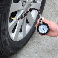 胎压计机械指针胎压表汽车用胎压监测表纯铜气嘴不锈钢锁扣轮胎气压表