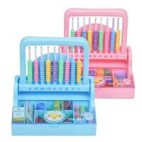【支持礼品卡】儿童学具教具计算架益智玩具七巧板学算数工具识数早教套装w0k
