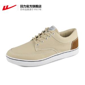 回力帆布鞋男女春秋情侣鞋系带休闲透气平跟鞋简约青春潮流运动鞋