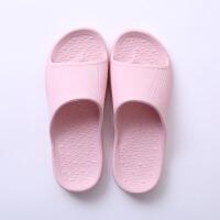 浴室拖鞋女防滑洗澡家居家用耐磨情侣厚底家居室内塑料凉拖鞋夏天