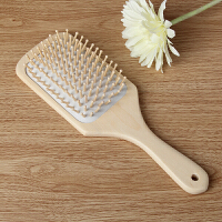 气囊按摩梳子头皮头部顺发美发梳卷发梳气垫化妆木梳离子梳