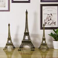 巴黎埃菲尔铁塔模型摆件艾菲尔生日礼物家居客厅房间装饰小工艺品