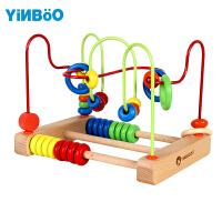 6一12个月婴幼益智玩具男孩女宝宝积木0-1-2周岁-3岁儿童绕珠串珠