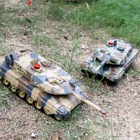 对战坦克玩具车 遥控充电动坦克车大型 儿童男孩生日礼物