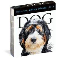 【现货】英文原版 2019年画廊日历:狗 进口台历 每天一页 精美装帧 Dog Page-A-Day Gallery