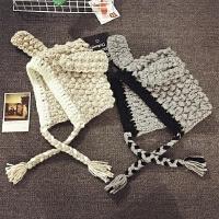 儿童毛线帽冬天加厚保暖护耳帽男女宝宝摄影造型帽针织帽秋季韩版