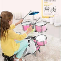 架子鼓儿童初学者玩具乐器爵士鼓男女3岁宝宝敲打鼓仿真