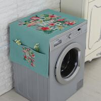 滚筒洗衣机罩防水防晒防尘通用全自动小天鹅西门子洗衣机套子