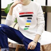春装韩版男士长袖t恤男卫衣短袖圆领体恤潮流打底衫秋衣新款2017