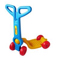 幼儿园踏板车 宝宝四轮塑料滑板车 乐园儿童感统体能训练车 扭扭健身车站式滑行车