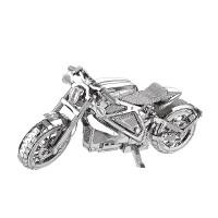 3D立体金属拼图复仇者电摩 摩托车DIY手工拼装模型 复仇者电摩+送工具+展示盒