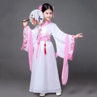 六一儿童古装唐装女童古装仙女装表演服古代公主古筝汉服服装